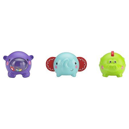 Игрушки-кубики Fisher Price Животные из тропического леса