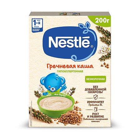 Каша Nestle гречневая безмолочная 200г с 4месяцев