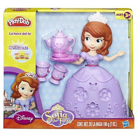 Игровой набор Play-Doh Чайная церемония у принцессы Софии