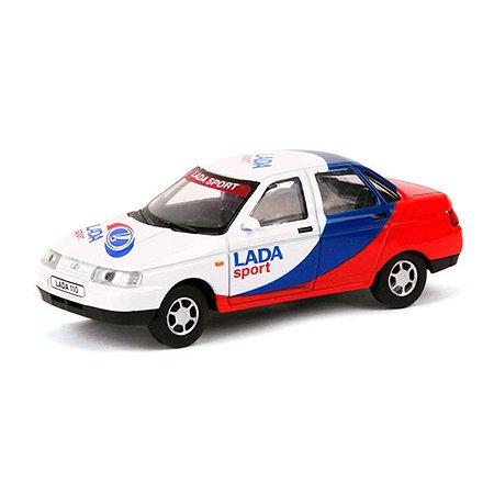 Машинка инерция Carline LADA 2110 1:43