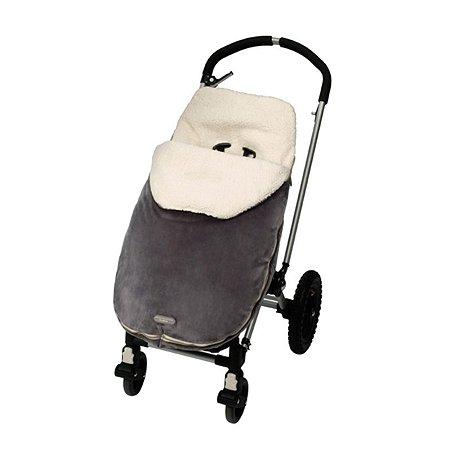Спальный мешок в коляску JJ Cole Toddler Bundle Серый