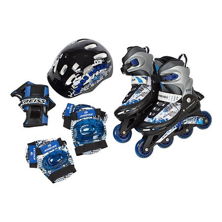 Набор ролики+защита синий S 30-33 Kreiss S 30-33