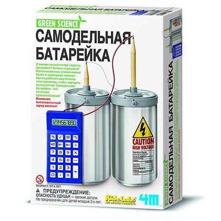 Познавательный набор 4M Самодельная батарейка