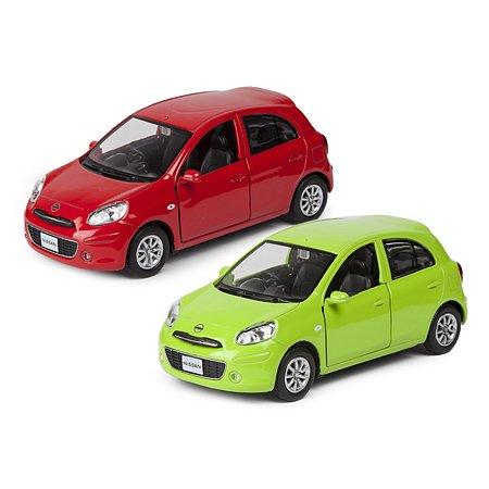 Машинка Mobicaro Nissan March 1:32-39 в ассортименте