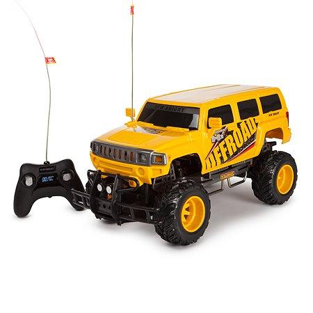 Машинка радиоуправляемая New Bright Hummer 1:10 Желтый 1078