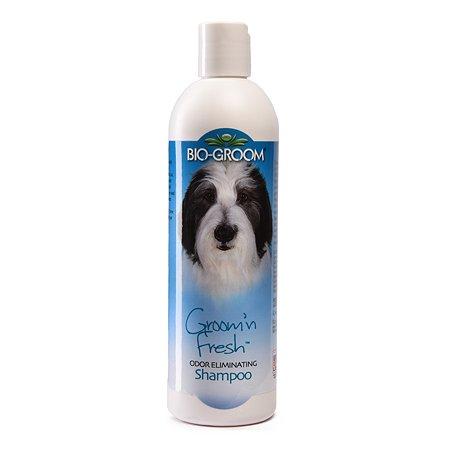 Шампунь для кошек и собак BIO-GROOM Groomn Fresh дезодорирующий 355 мл 29012
