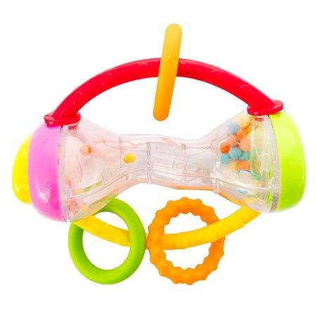 Погремушка ToysLab Гантелька 75003