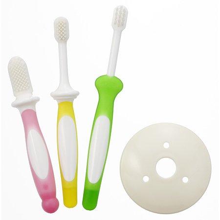 Набор зубных щеток Pigeon 3 уровня 3шт