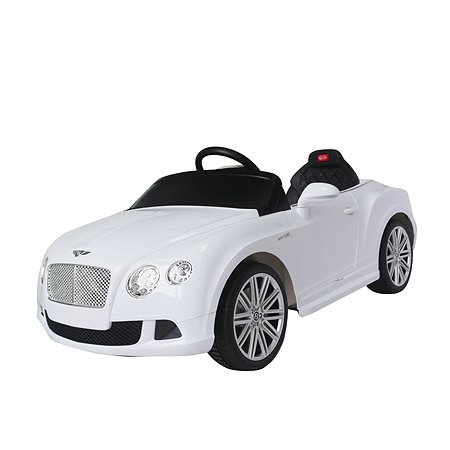 Электромобиль Rastar Bentley GTC Белый