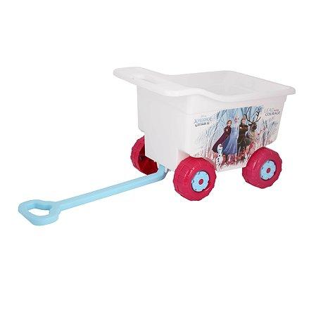 Тележка для игрушек Альтернатива Холодное сердце 2 на колесах М7778