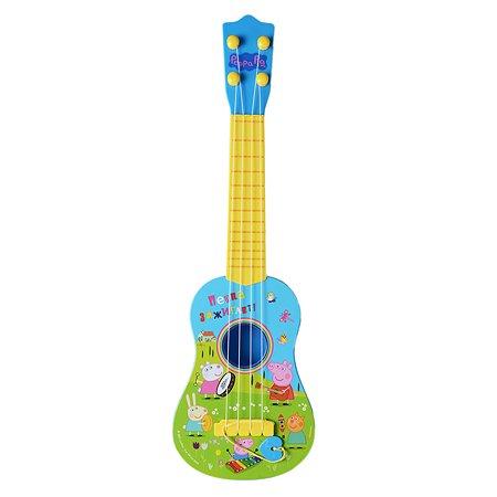 Игрушка Свинка Пеппа Гитара с медиатором 34813
