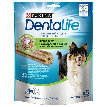 Лакомство для собак Dentalife Purina средних пород 115г