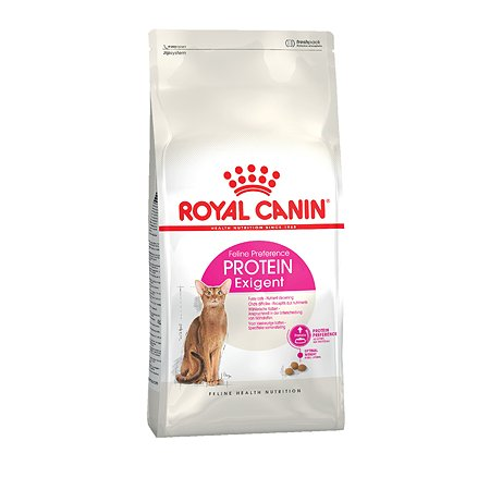 Корм сухой для кошек ROYAL CANIN Exigent Protein 4кг привередливых к составу продукта