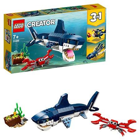 Конструктор LEGO Creator Обитатели морских глубин 31088