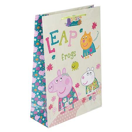 Пакет подарочный Росмэн Peppа Pig Весна Пеппы 33173
