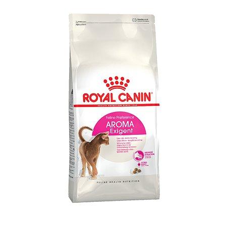 Корм сухой для кошек ROYAL CANIN Аroma Exigent 2кг привередливых к аромату продукта