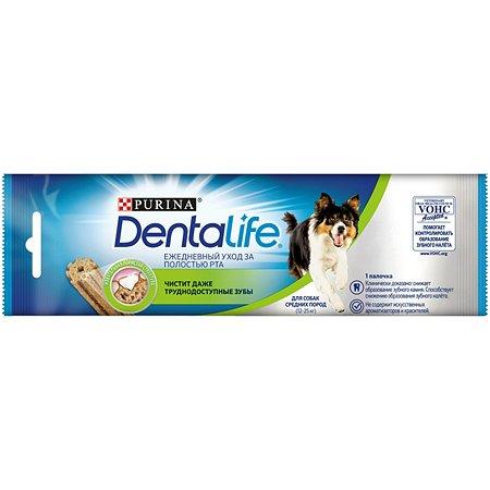 Лакомство для собак Dentalife Purina средних пород S 23г