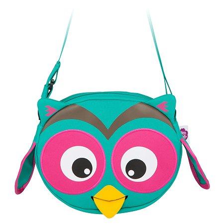 Сумка Affenzahn детская Olivia Owl осн цвет бирюзовый/розовый AFZ-FSB-001-006