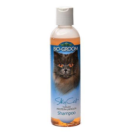 Шампунь для кошек BIO-GROOM Silky Cat Shampoo кондиционирующий с протеином и ланолином 237 мл