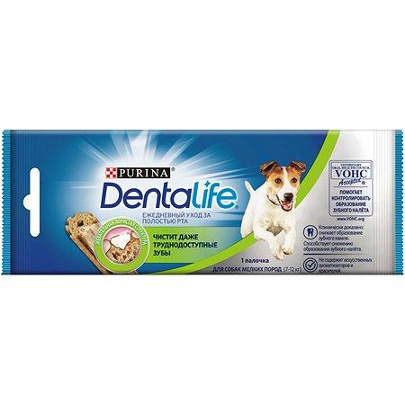 Лакомство для собак Dentalife Purina мелких пород S 16г