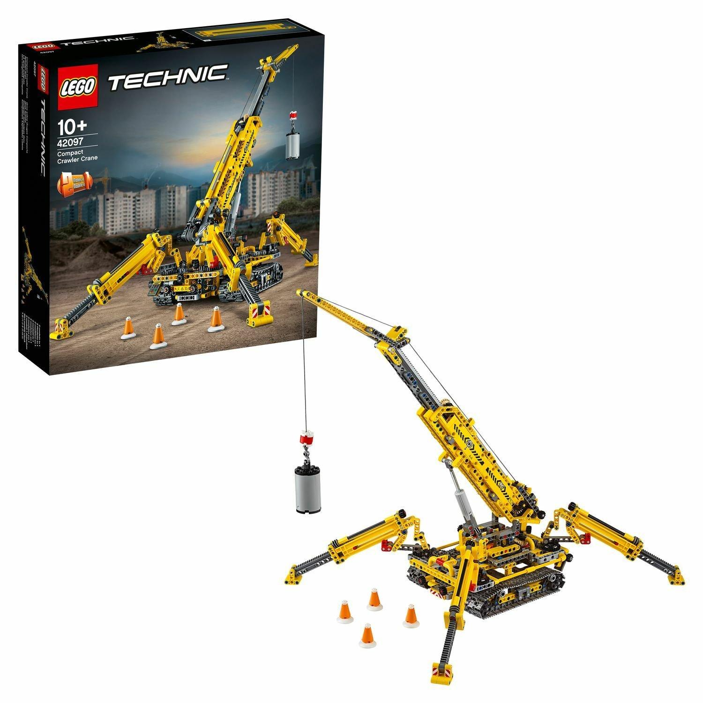 Конструктор LEGO Technic Компактный гусеничный кран 42097
