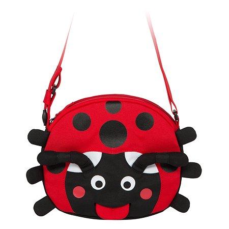 Сумка Affenzahn детская Lilly Ladybird осн цвет красный/черный AFZ-FSB-001-009