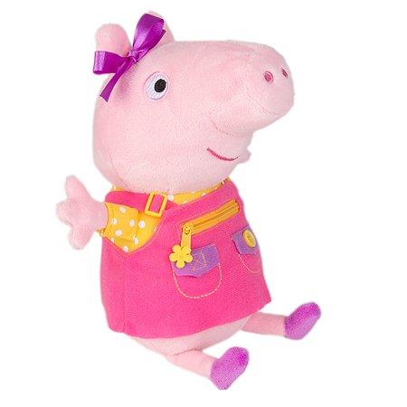 Игрушка мягкая Свинка Пеппа Пеппа учит одеваться 34797