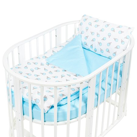 Комплект постельного белья Sweet Baby Gelato 4предмета Turchese Бирюзовый