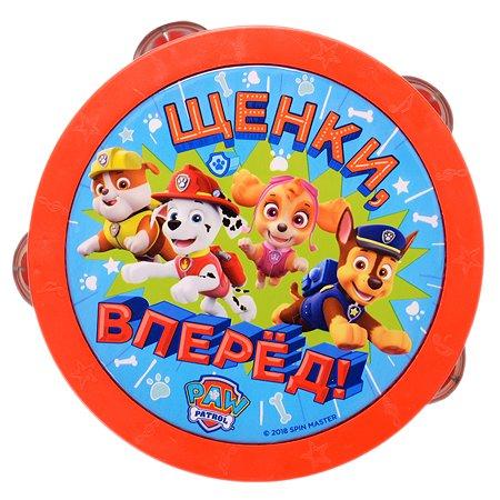 Игрушка Щенячий патруль Бубен 34812