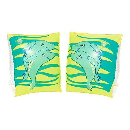 Нарукавники для плавания Bestway 23х15 см Дельфин зеленый Bestway