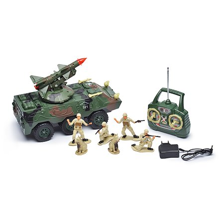 Военный джип р/у Mioshi с ракетой 30см