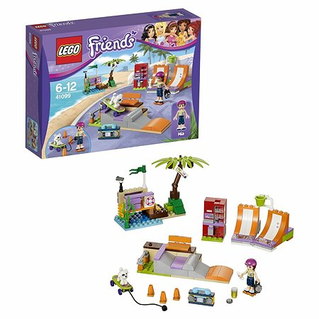 Конструктор LEGO Friends Скейт-парк (41099)