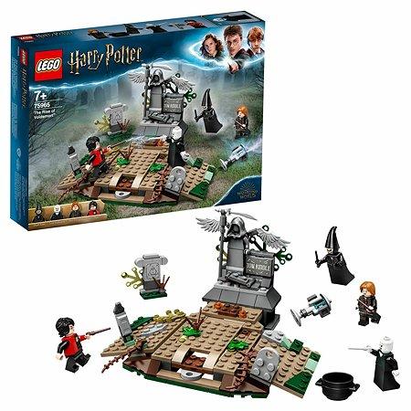 Конструктор LEGO Harry Potter Возвращение Лорда Волан-де-Морта 75965