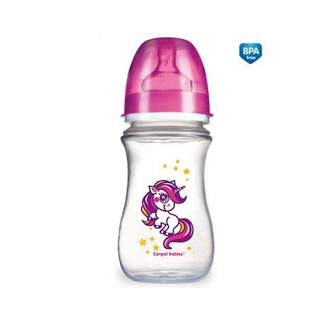 Бутылочка Canpol Babies с широким горлышком 240 мл EasyStart в ассортименте