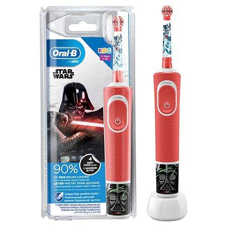 Зубная щетка Oral-B Звездные войны электрическая с 3лет 80324478