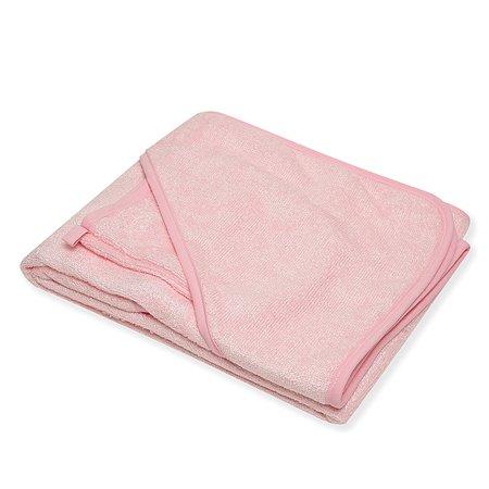 Махровое полотенце Italbaby 100/100 розовое