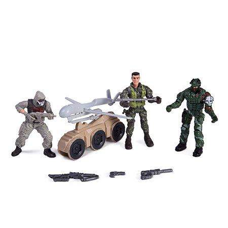 Набор Global Bros Герои-2 (3 солдатика+аксессуары)