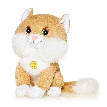Котенок Лапушка Maxi Play озвученный(бежевый)