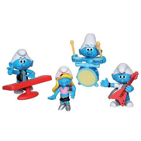 Набор из 4-х фигурок Smurfs в ассортименте