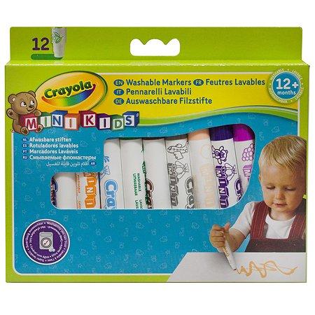 Фломастеры Crayola для малышей  12 цв.