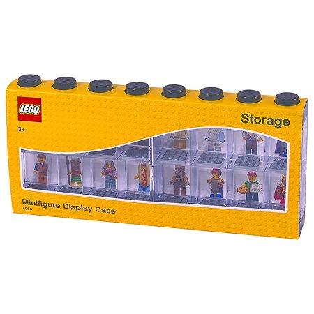 Дисплей для минифигур LEGO 16 шт черный