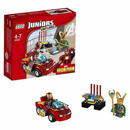 Конструктор LEGO Juniors Железный человек против Локи (10721)