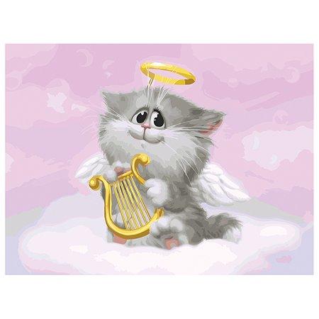 Набор для рисования Белоснежка Котёнок-ангелочек (744-AS)