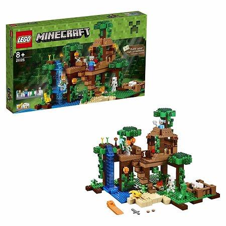 Конструктор LEGO Minecraft Домик на дереве в джунглях (21125)