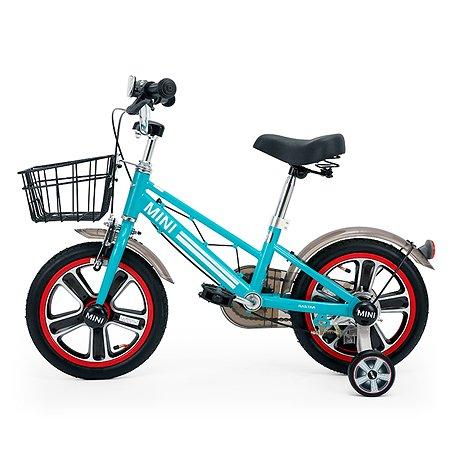 """Велосипед Rastar Mini Cooper 14"""" Синий"""
