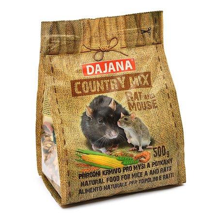 Корм для крыс и мышей DAJANA Country Mix 500г DP406J