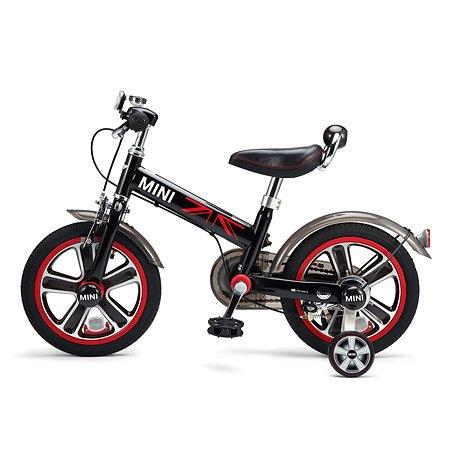 """Велосипед Rastar Mini Cooper 14"""" Черный"""