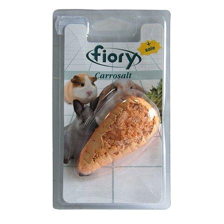 Био-камень для грызунов Fiory Carrosalt с солью в форме моркови 65г