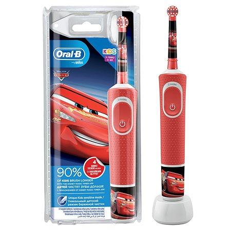 Зубная щетка Oral-B Тачки электрическая с 3лет 80324459