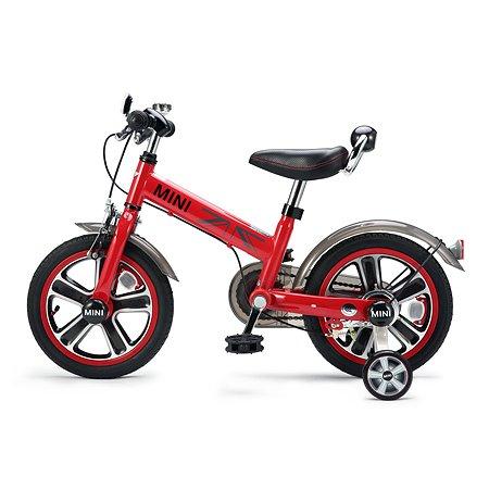 Велосипед Rastar Mini Cooper 14 дюймов Красный